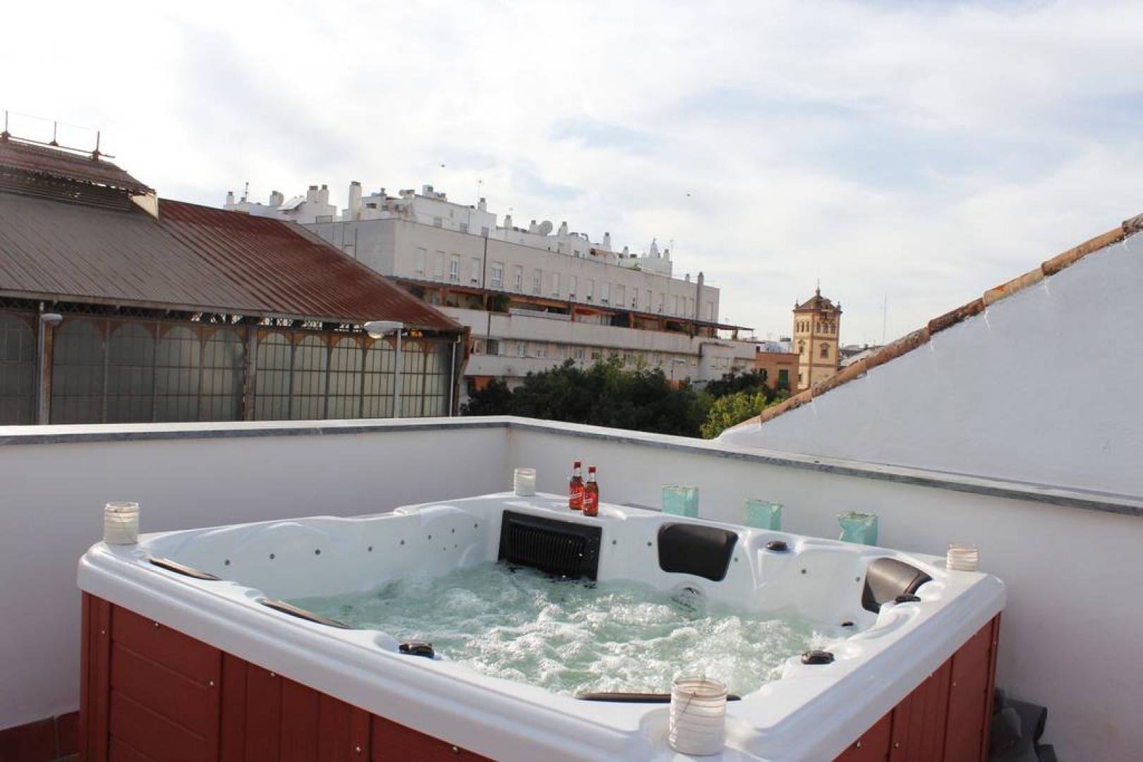Jacuzzi Exterior Sevilla.Disfruta Del Sol En Sevilla Jacuzzi En Terraza